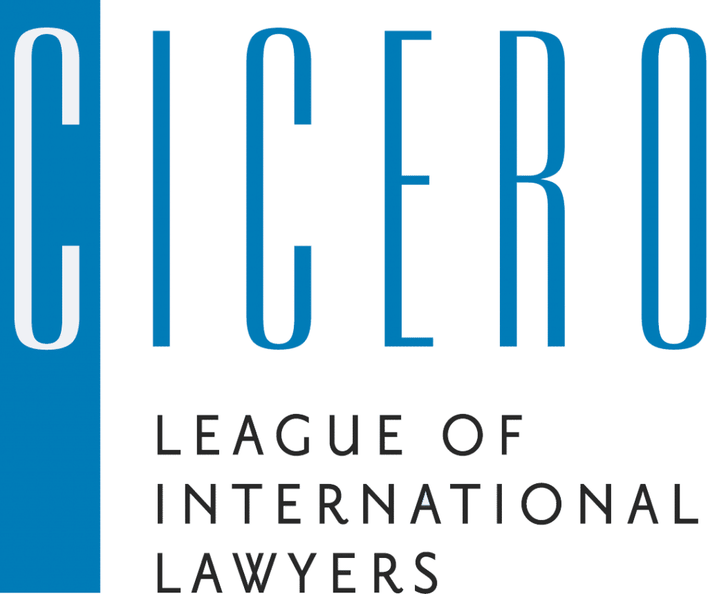 Cicero Logo - League of international Lawyers