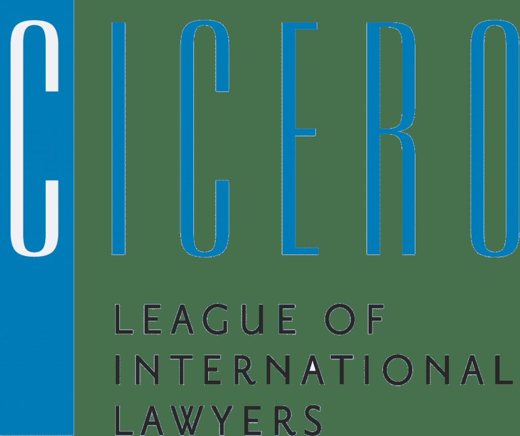 Cicero Logo - League of international Lawyers